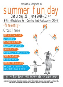 Addiscombe SUMMER FAIR_A5