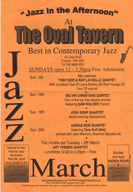 Oval Jazz March