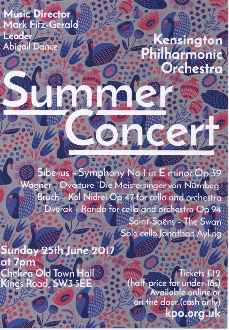 Mark's summer concert