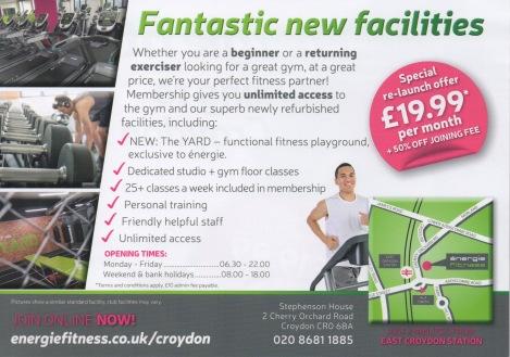 Gym flyer 2