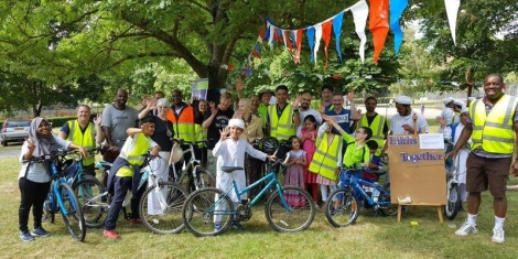 Interfaith bike ride