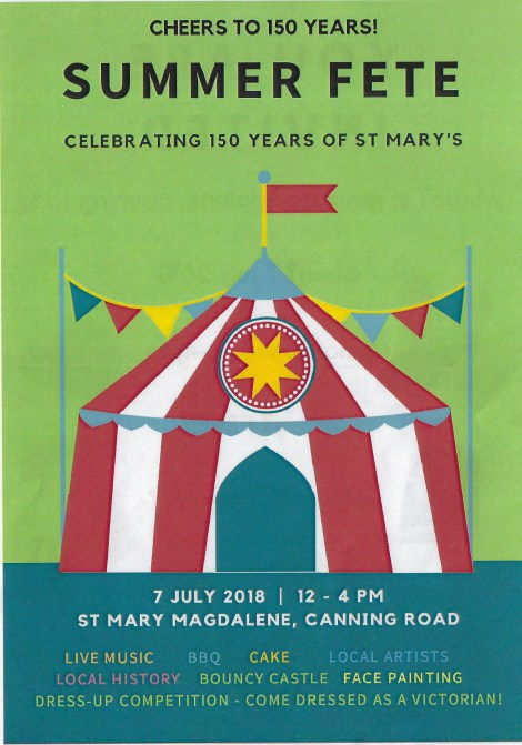 St Mary Fete 2018