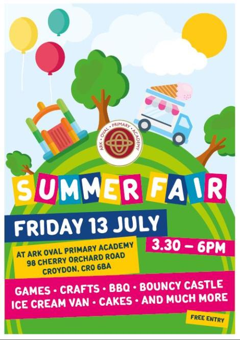 Ark Oval Summer Fair 18