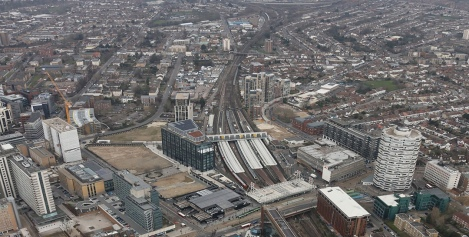 East-CroydonStationAerial
