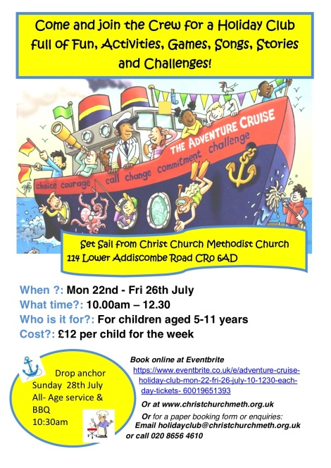 Adventure Cruise Holiday Club poster 2019 PL copy