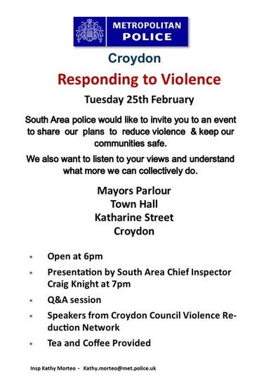 Responding to violence